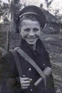 Nastoletni żołnierz
