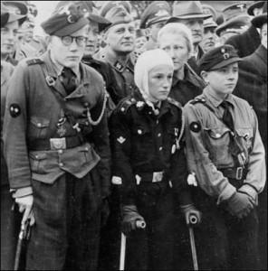 Ranne dzieci - żołnierze Hitlera